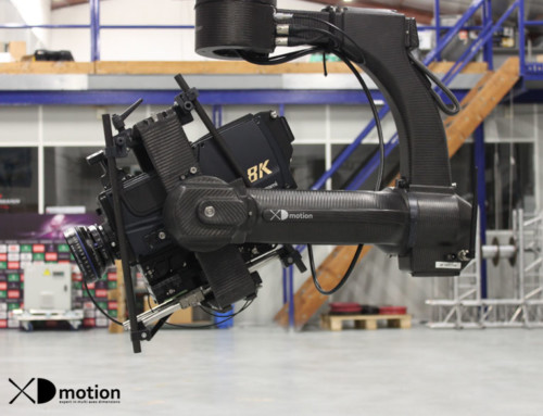 X fly 3D cablecam 8K