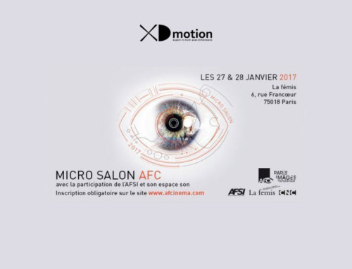 XD motion au Micro Salon AFC 2017