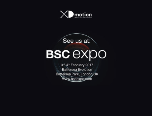 XD motion au BSC Show (Stand 100)