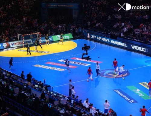 X fly 2D au Mondial de Handball