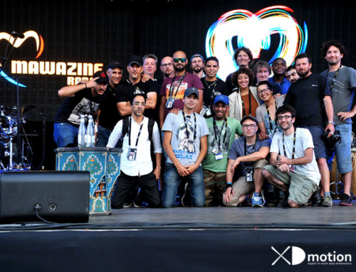 X fly 2D at Mawazine Festival