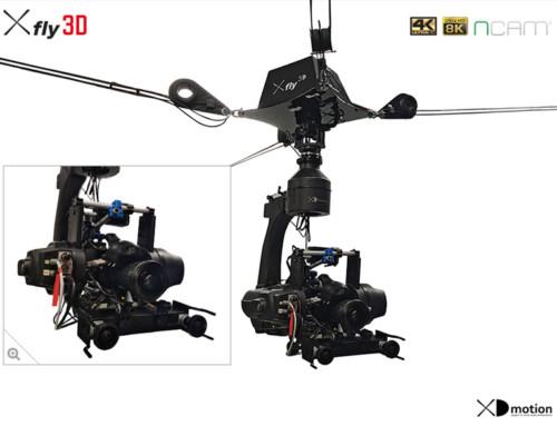 X fly 3D en réalité augmentée NCAM
