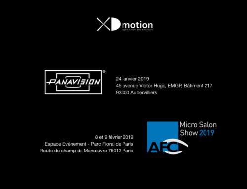 Panavision et AFC Microsalon 2019