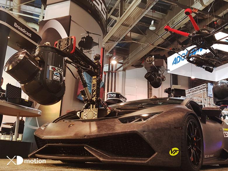GSS cinema pro plus world fastest camera car