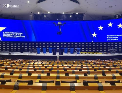 X fly 3D aux élections européennes