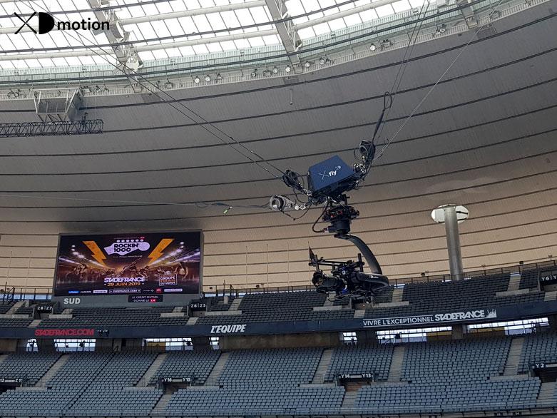X fly 3D Rockin 1000 Stade de France