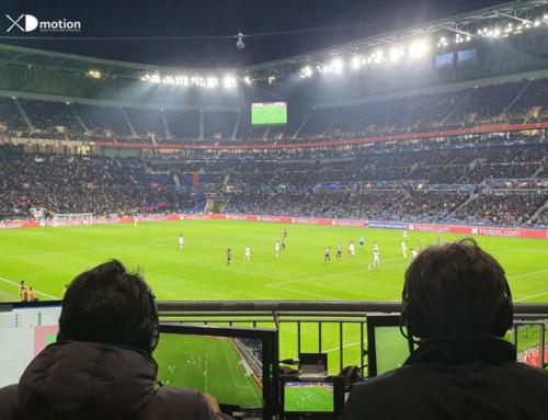 X fly 3D pour UCL Lyon – Benfica